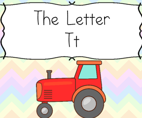 The Letter T