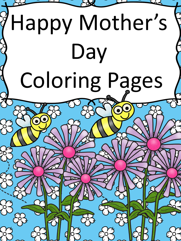 Free Happy Mothers Day Coloring Pages: Help your little one wish mom a happy Mother's Day with these fun coloring pages.