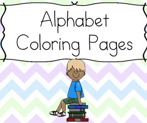 Preschool Alphabet Coloring Pages: Coloring pages for each letter of the alphabet