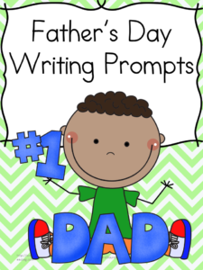 Father's Day Writing Prompt: Great for Kindergarten or First Grade