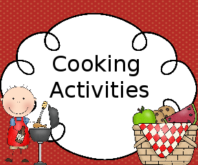 Preschool Cooking Activities: Fun in the home and for the classroom.