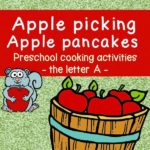 Short A apple picking activity