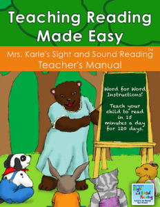 Teaching Reading book: Word for word instructions on how to teach reading to children