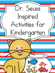 Dr. Seuss Worksheets: Inspired by Dr. Seuss! books, fun activities to do with your little one!