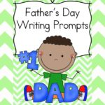 Fathers Day writing prompts with free sample prompts.