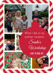 Santa's Workshop in Lake Placid, NY offers a fun family day!