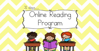 Online Reading Program: 120 days of free videos and worksheets to teach reading