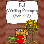Fall Writing Prompts -For Kindergarten, first or second grade. Modified to work with several levels, these fall writing prompts will have your students thinking and writing about the fun of fall!