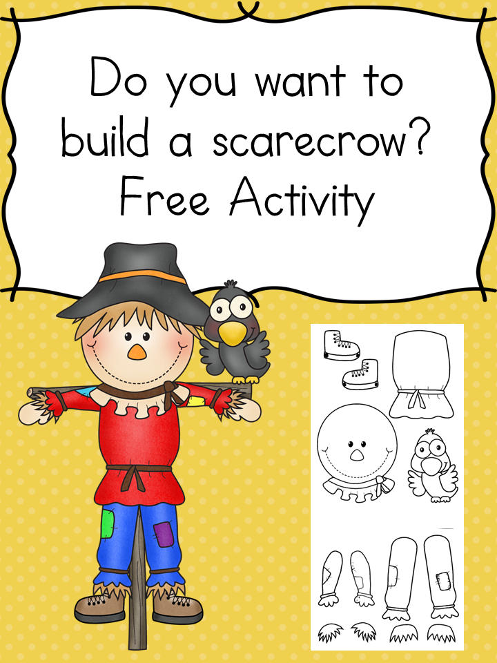 Do you want to build a scarecrow? Cute fun craft for kids that will test scissor skills.