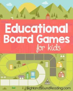 Educational Board Games for Kids