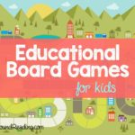 Educational Board Games for Kids - Different games you likely have never heard of that are great for teaching and fun!
