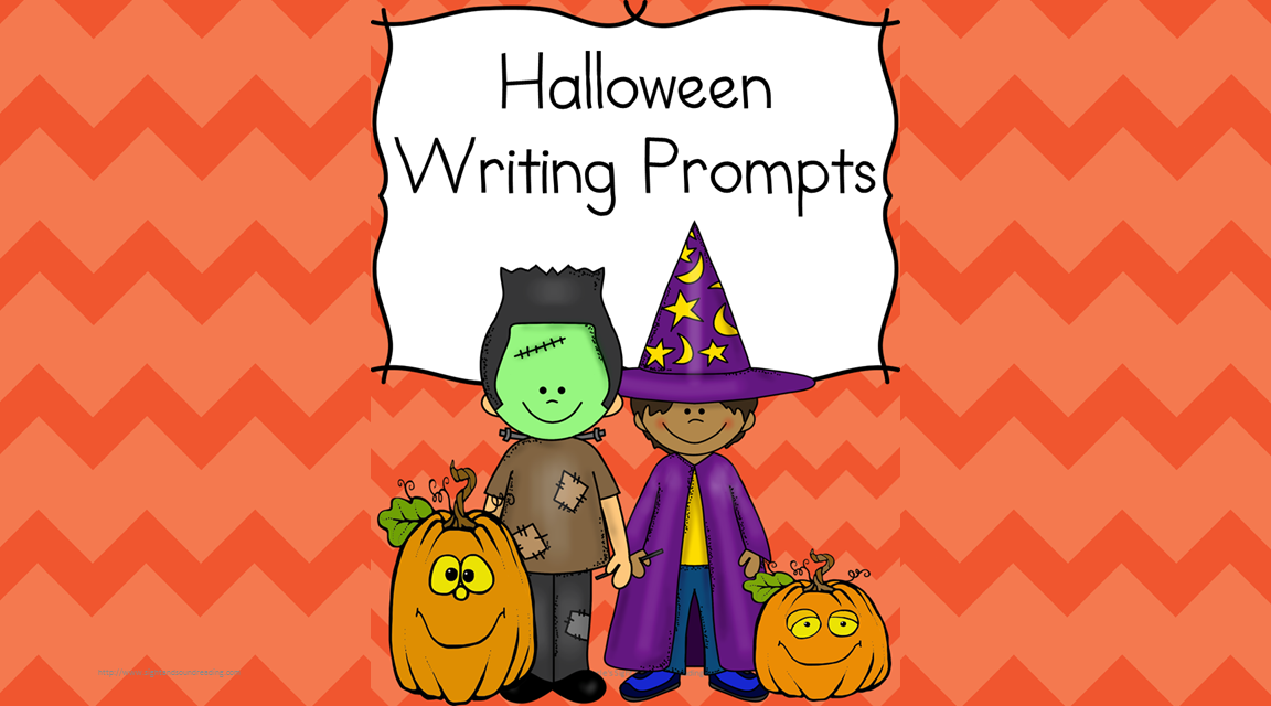 halloween writing prompts for kindergarten st nd grade