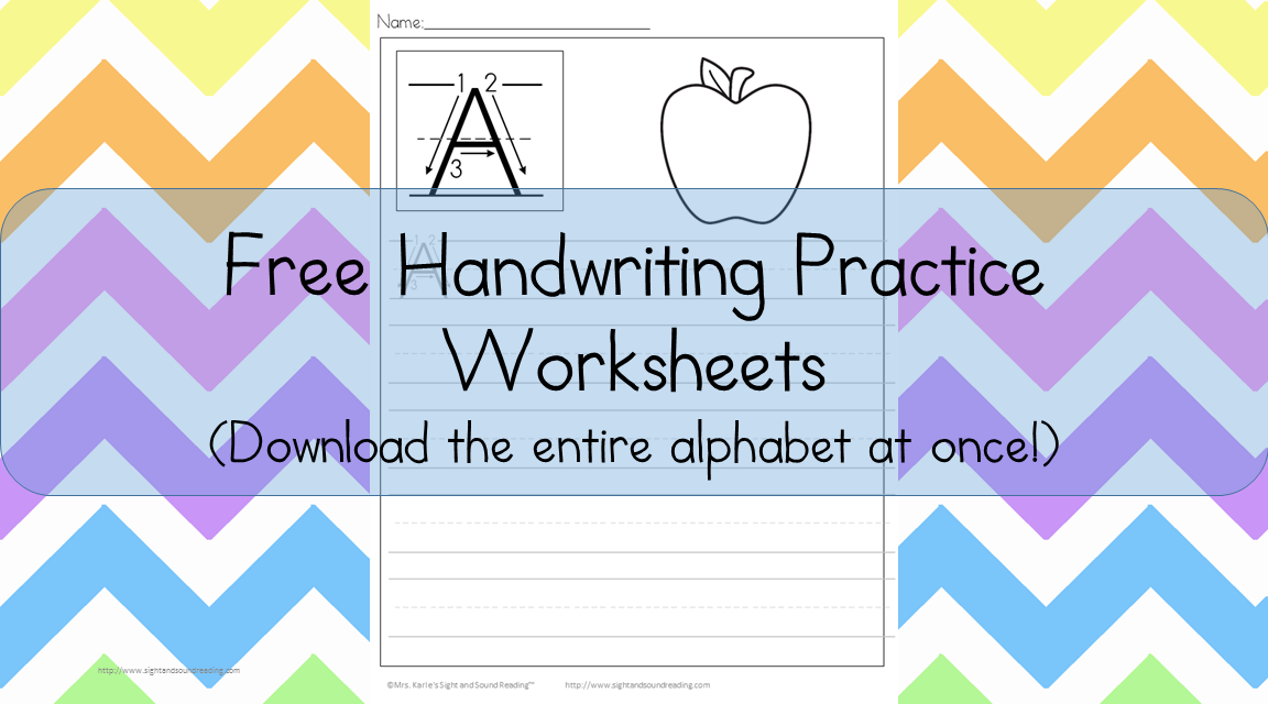 26 free preschool handwriting worksheets easy download. Black Bedroom Furniture Sets. Home Design Ideas