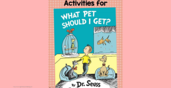 What Pet Should I get Activities with Free Writing Prompt -Great activities for Preschool, Kindergarten or 1st Grade