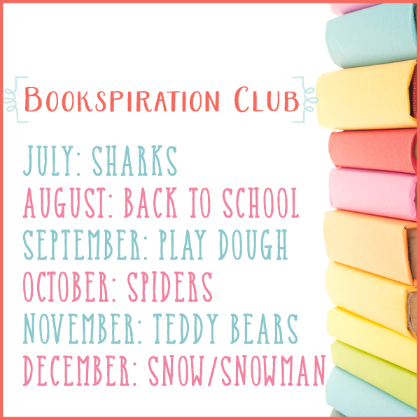 Bookspiration Club (Monthly Book Activity to go along with books)