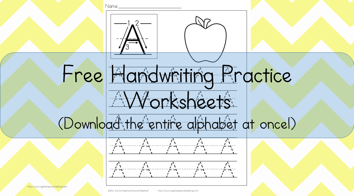 Handwriting Worksheets Free Printable Free Download – Free Handwriting Worksheet Maker