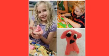 Playdough Crafts and Book Activities: Fun activities to play with playdough that go along with books.
