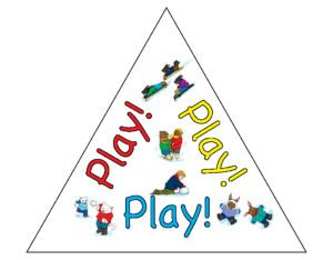 Play - Sight Word book and beyond! Learn the benefits of play and pick up a free sight word book, thanks to The Voice of Play.
