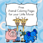 Animal Coloring Pages for Little Movers