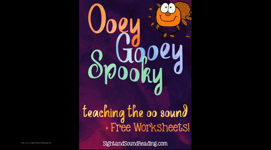 Long OO Sound Worksheet and activity that students will love. Get ooey, gooey and spooky to learn the long oo sound.