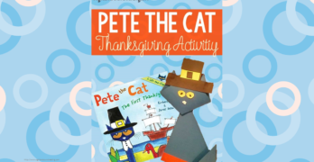 Pete the Cat Thanksgiving Activity