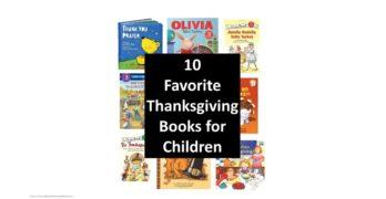 Thanksgiving Books for Preschool