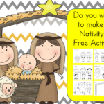 Do you want to build a Nativity? Fun free activity to make a Nativity! Cut and Paste and add to paper or make a puppet with popsicle sticks.
