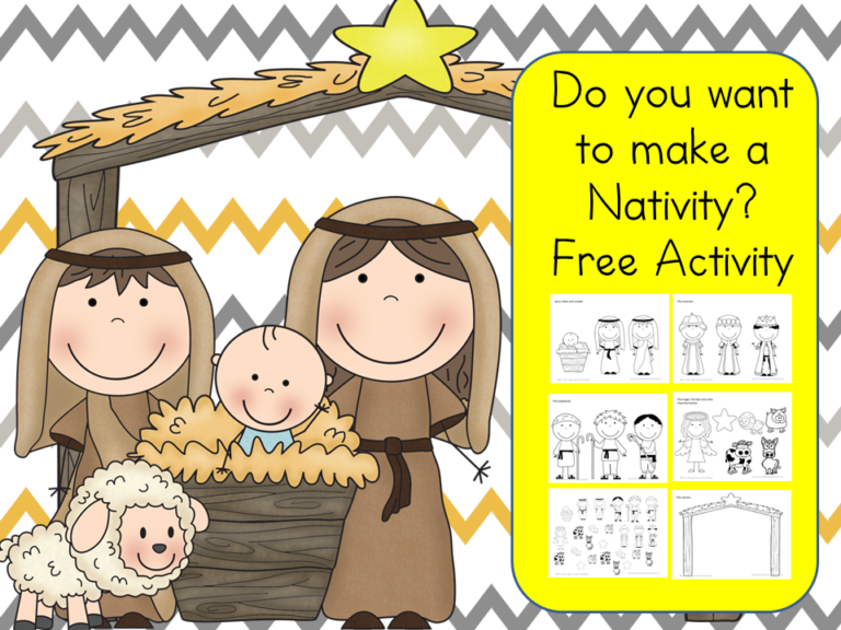 Do you want to build a Nativity?