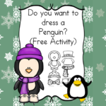 Do you want to dress a penguin? Cute activity and story to have fun on a cold winter day.