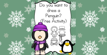 Do you want to dress a penguin?