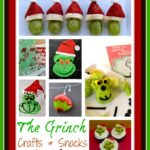Grinch Crafts and Snacks...Looking to make something inspired by the Grinch? These Grinch Crafts and Snacks will inspire you!