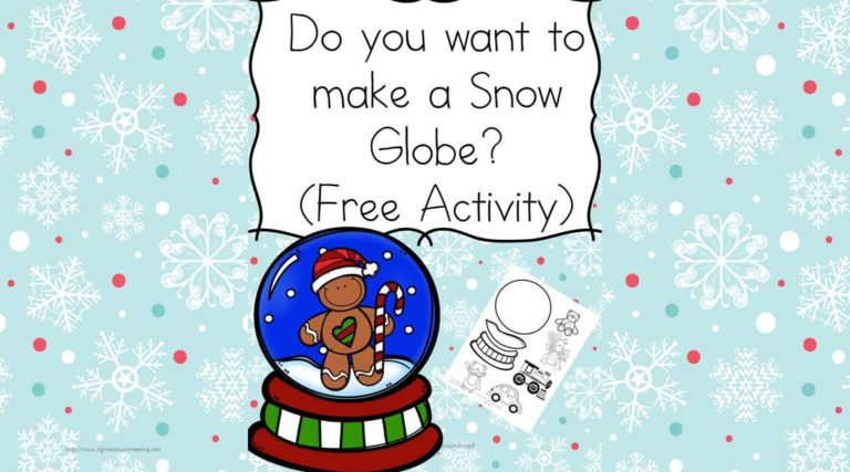 Do you want to make a Snow Globe?