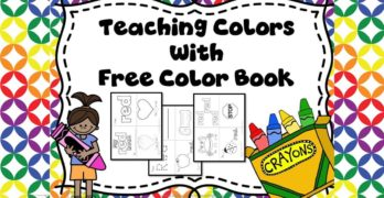 Preschool Colors Theme: Help teach the colors with these ideas and activities. Free Color Book included.
