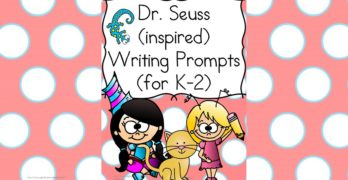 Dr Seuss Writing Prompts