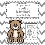 Do you want to make a Teddy Bear? Cute, fun, activity that will challenge fine motor cutting and pasting skills.