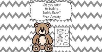 Do you want to make a teddy bear?
