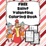 Saint Valentine Coloring- Learn the origins of Valentine's Day with this free Saint Valentine Coloring Page.