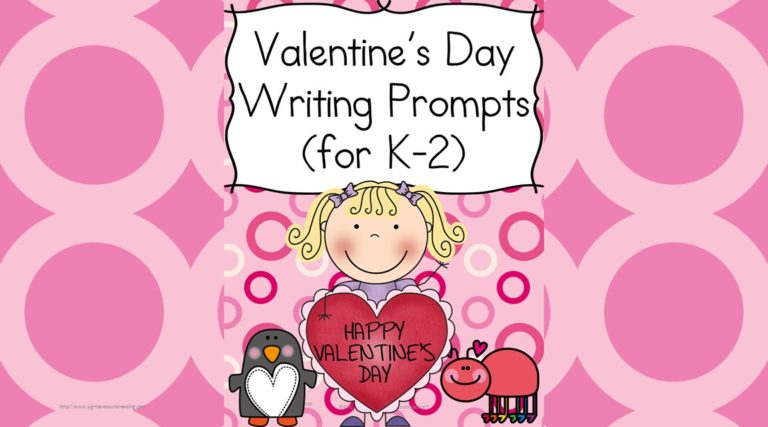 Valentines Day Writing Prompts with Free Sample