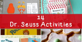 Dr Seuss Activities for Kindergarten - Fun Activities to do with your children or students!