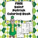 Saint Patricks Day Coloring Pages -Learn about Saint Patrick with this fun coloring book