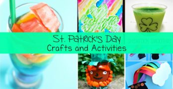 St Patricks Day Kids Crafts
