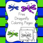 Dagonfly Coloring Pages: Cute, free and fabulous dragonfly coloring pages.