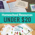 Great Homeschool Resources for Under $20