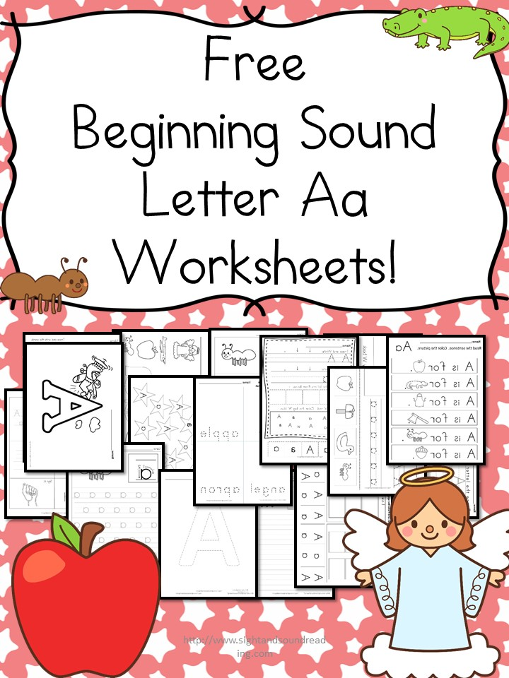 Beginning Sounds Letter A Worksheets For Kindergarten: Letter A Worksheets At Alzheimers-prions.com