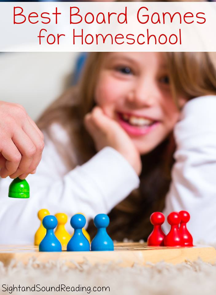 Great Board Games for Homeschool- Fun and Educational and a great way to learn and reinforce school work.