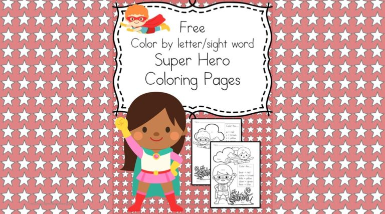 2 Free Super Heroes Coloring Pages – Easy Download!