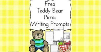 Teddy Bear Picnic Writing Prompts