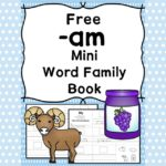 AM CVC Word Family Worksheets