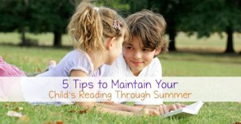 5 Tips to Maintain Summer Reading