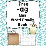 AG CVC Word Family Worksheets